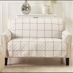 Other - Loveseat furniture protector reversible